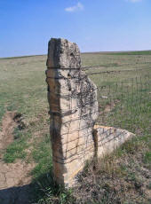 Reclaimed Stone Fence Posts
